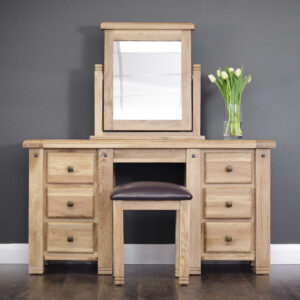 Donny Dressing Table, Mirror & Stool